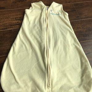 Other - Yellow fleece 0-6 mo sleepsack